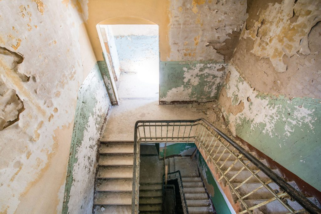 André Joosse Abondoned stairwell